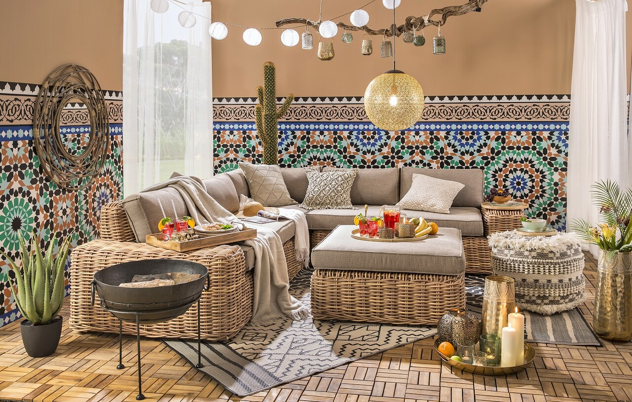 "Shop the Look: ""Summer Lounge Marrakesch"""